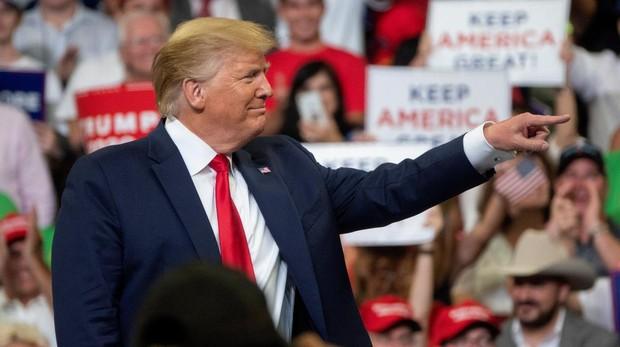 Trump se lanza a por la reelección centrado en ataques a los demócratas
