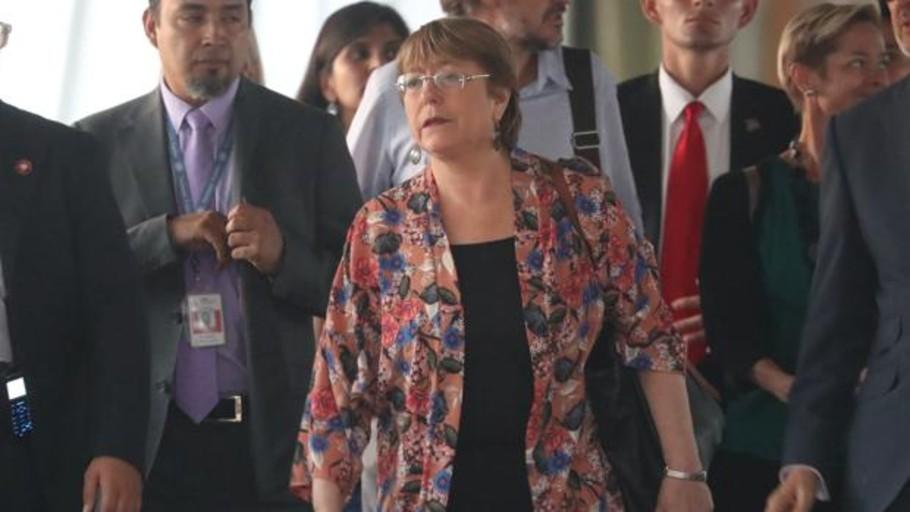 Michelle Bachelet, Alta Comisionada de los Derechos Humanos de la ONU, llega a Venezuela