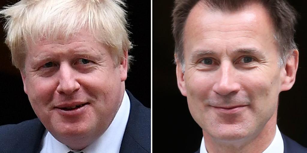 Parecidos y diferencias entre Boris Johnson y Jeremy Hunt, candidatos finalistas a suceder a Theresa May