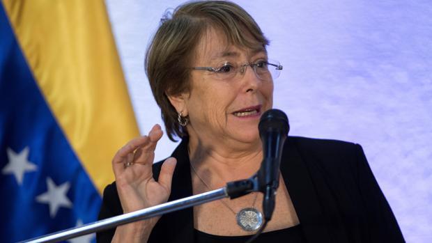 Bachelet pide liberar a los detenidos por ejercer sus derechos civiles «de forma pacífica» en Venezuela