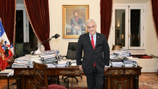 Sebastián Piñera: «La dictadura corrupta de Maduro tiene los días contados»
