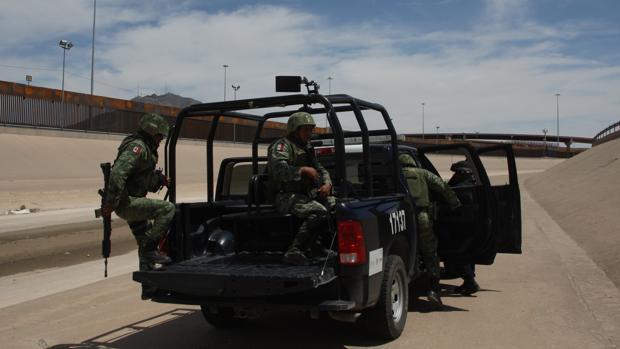 México envía 15.000 soldados y policías a su frontera para frenar la inmigración irregular