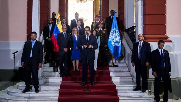 Maduro detiene a siete altos mandos militares tras la partida de Bachelet