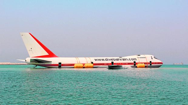 Bucear en un Boeing 747