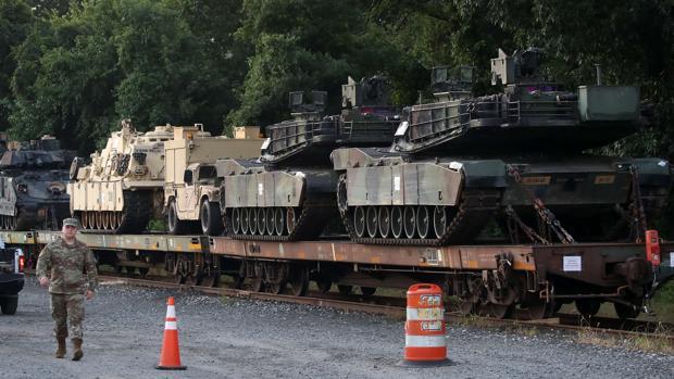 Polémica en EE.UU. por la intención de Trump de sacar tanques pesados en Washington el 4 de julio