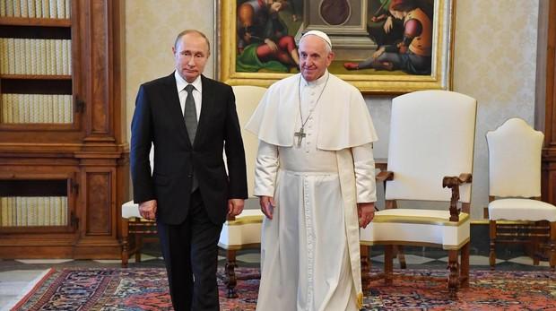 Audiencia del Papa Francisco a Putin en el Vaticano