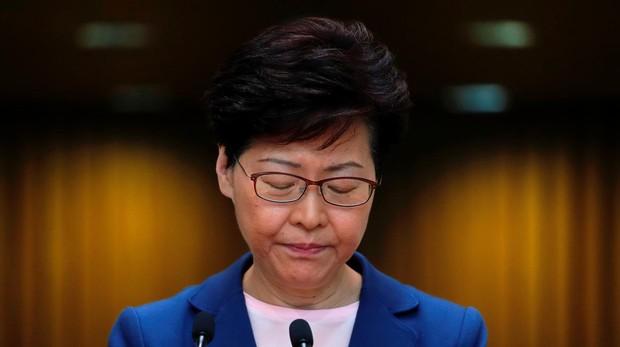 La jefa del Gobierno de Hong Kong asegura que la ley de extradición a China «está muerta»