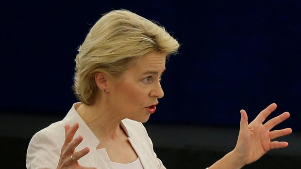 La democristiana Von der Leyen logra ser elegida con un gran discurso europeísta