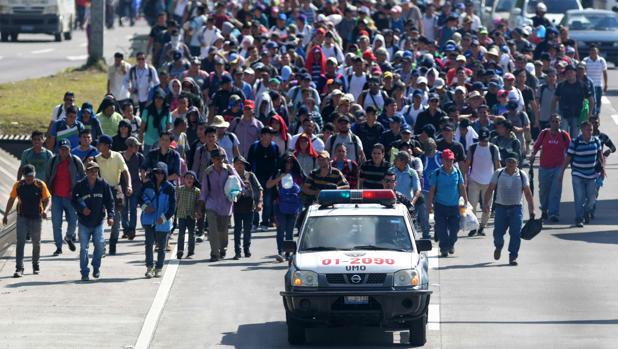 El Salvador despliega una patrulla fronteriza para frenar la emigración irregular