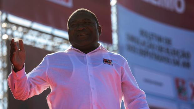 El presidente de Mozambique, Filipe Nyusi, cerca de ser reelegido para un segundo mandato