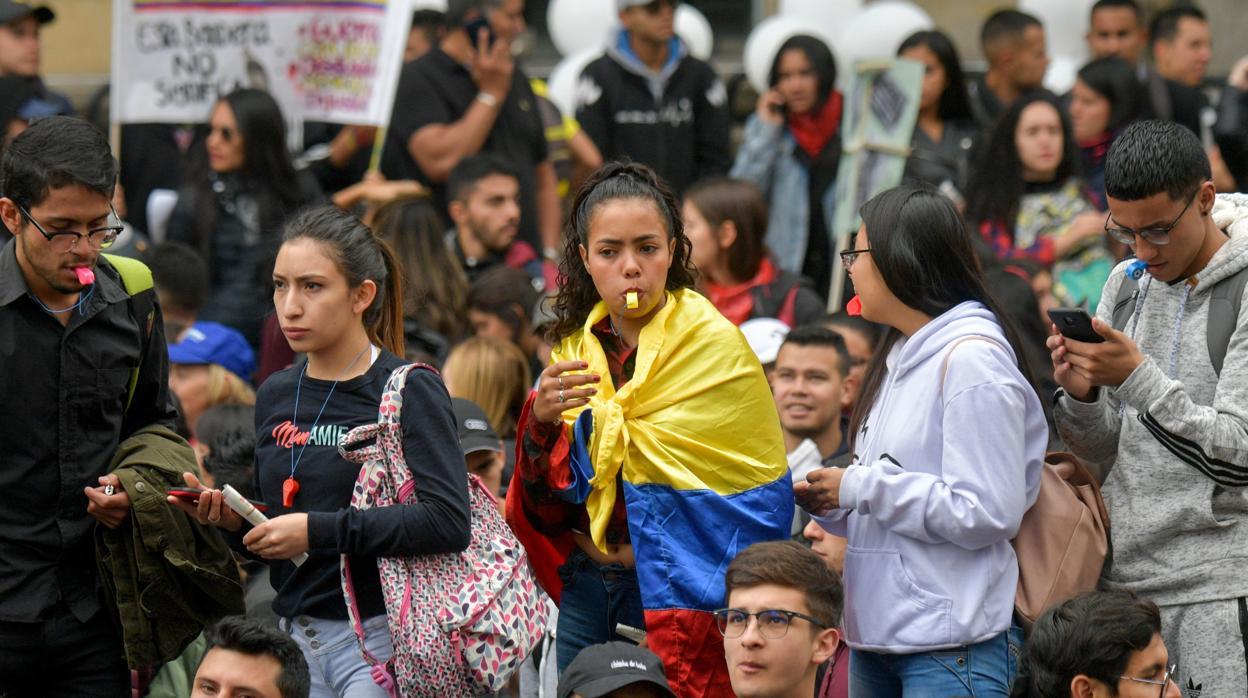 Resultado de imagen para Protestas en Colombia