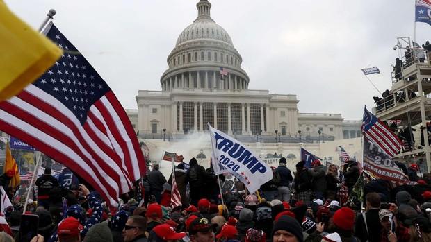 Imágenes del Capitolio y la tensión en EE.UU. tras el asalto