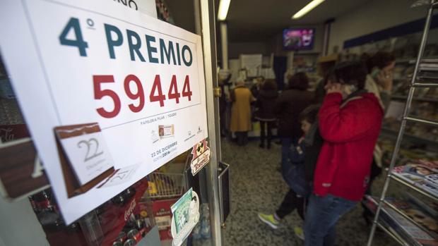 El 59.444, cuarto premio del Sorteo Extraordinario de la Lotería de Navidad, ha sido vendido en Toledo