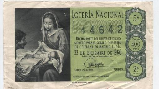 Décimo de 1960 a la venta en Todocolección