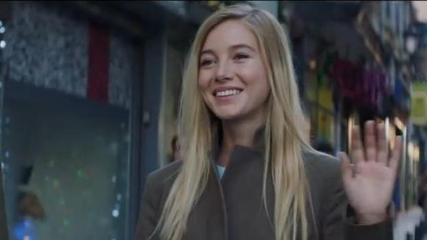 Charlotte Vega, protagonista del anuncio de la Lotería de Navidad
