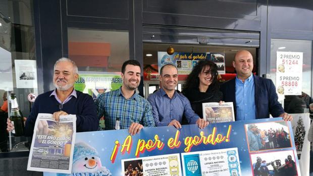 Gasolinera de Granadilla, que ha dado el Gordo en Tenerife
