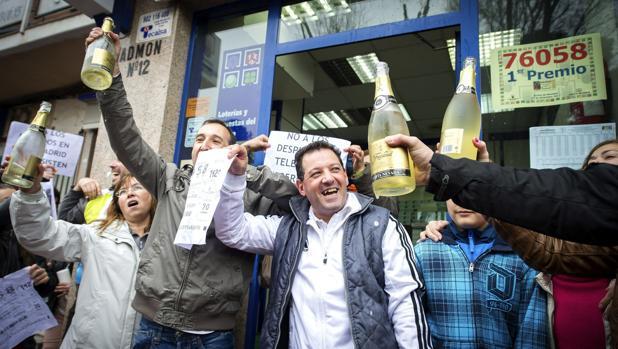 El Gran Premio de la Lotería de Navidad cayó en Alcalá de Henares