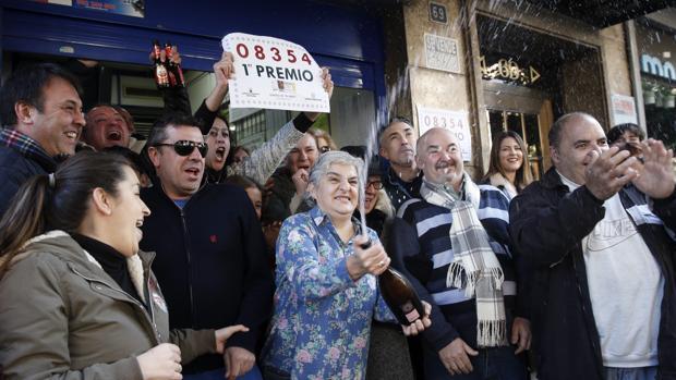 El primer premio ha caído íntegro en Torrent (Valencia)