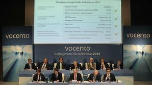 Junta General de Accionistas de Vocento celebrada en abril de 2015