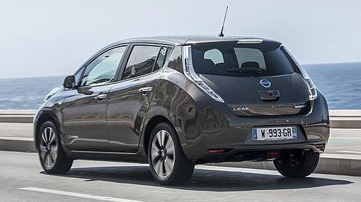 En el nuevo Nissan Leaf no hay cambios estéticos