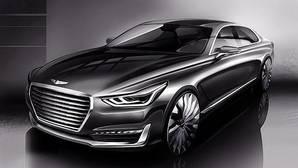 El nuevo Genesis G90 muestra un frontal espectacular
