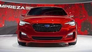 Subaru muestra el Impreza Sedan Concept en Los Ángeles