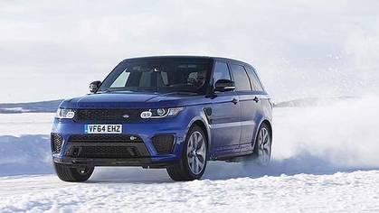 El Range Rover Sport SVR de Spectre, de carreras por el hielo