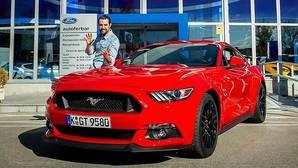 Dani Mateo, embajador del Ford Mustang