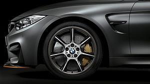 BMW presenta las primeras llantas de fibra de carbono