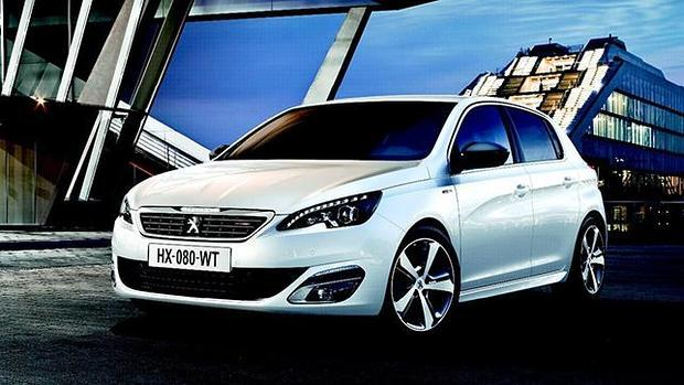 los peugeot 308 style y gt line m s deportivos. Black Bedroom Furniture Sets. Home Design Ideas