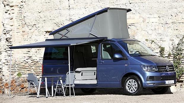 Para las escapadas más completas el Volkswagen California es la solución