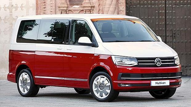El Volkswagen Multivan es otra de las opciones de la gama T6 para disfrutar en la carretera