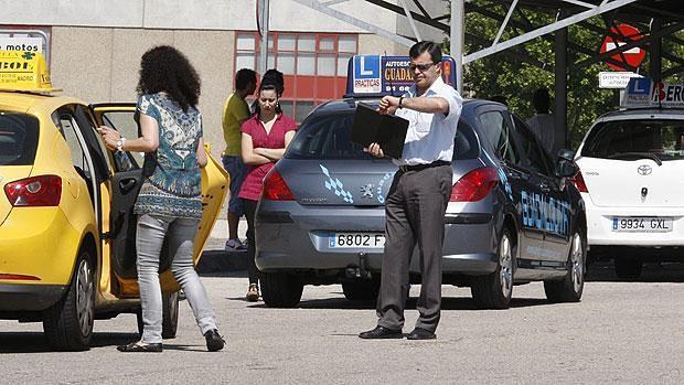 Centro de exámenes de conducir de la Jefatura Provincial de Tráfico de Madrid