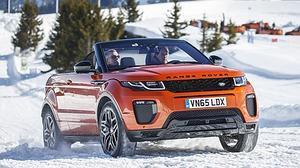 La nueva estrella de la marca británica, el Range Rover Evoque Convertible