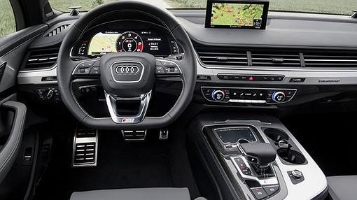 El Audi virtual cockpit permite configurar la información del nuevo SQ7
