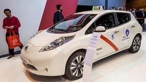 Una flota de 50 coches eléctricos se incorporan a los taxis de Madrid