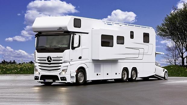 V deo as es uno de los motorhome m s lujosos del mundo - Camping de lujo en espana ...