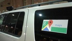 «Cazan» a un coche de policía camuflado de Google Maps