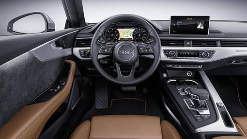 Nuevo Interior más limpio para los Audi A5