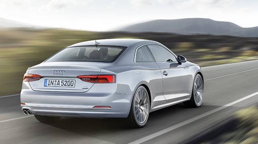 Los nuevos Audi A5 resultan más elegantes