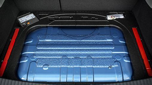 El depósito del GNC reduce el espacio del maletero en unos 100 litros