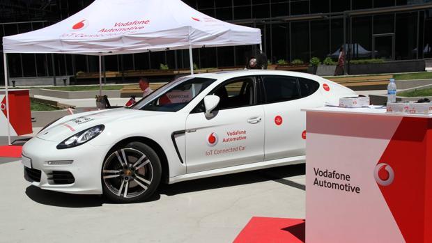 Vodafone apuesta por el «coche conectado»