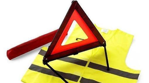 El chaleco es obligatorio para salir del coche en medio de la circulación