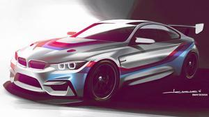 El próximo BMW de carreras, el M4 GT4