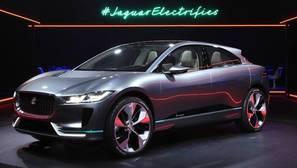 Prototipo del I-PACE Concept, primer coche eléctrico de Jaguar