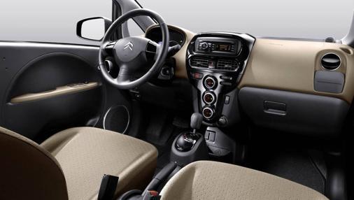 Interior del Citroën C-Zero