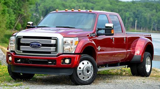 Las F Series de Ford son los coches más vendidos en la actualidad