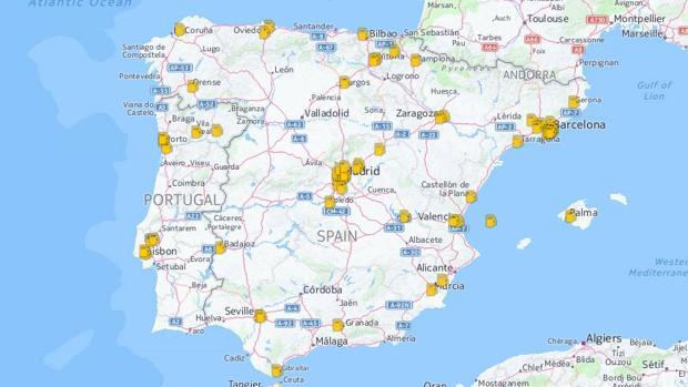 Estas son las gasolineras donde puedes repostar gas en España