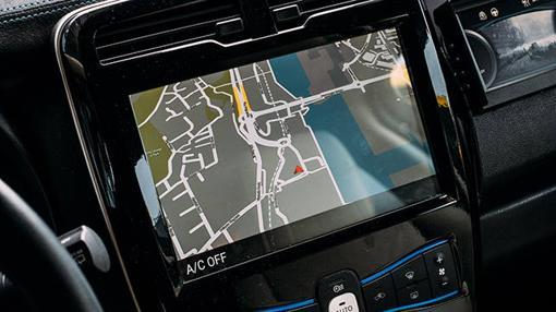 Una de las pantallas donde seguir la evolución del coche