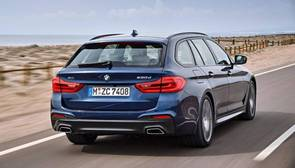 El Serie 5 Touring, protagonista de BMW en Ginebra